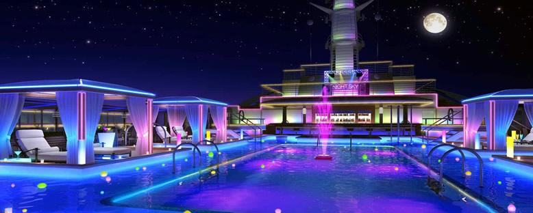 Night Sky Lounge - Regal Princess
