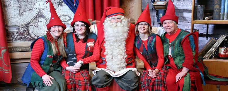 Noel Baba ve Elfler - Rovaniemi