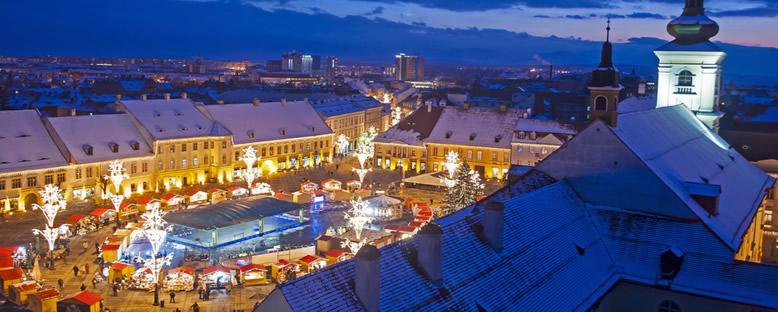 Noel Döneminde Kent Merkezi - Bükreş