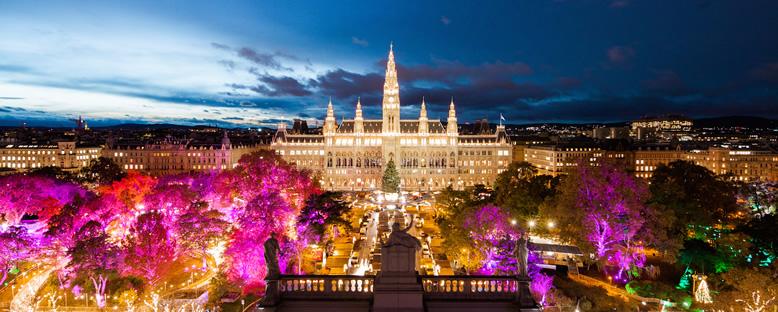 Noel Işıkları - Viyana
