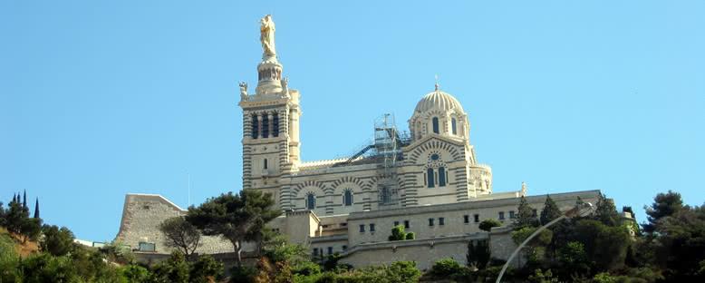Notre-Dame de la Garde Bazilikası - Marsilya