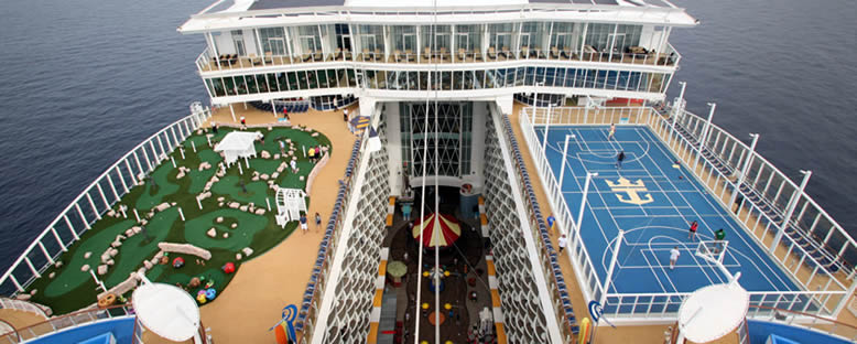 Spor Sahaları - Allure of the Seas
