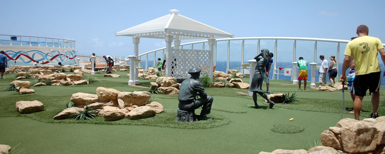 Mini Golf Sahası - Allure of the Seas