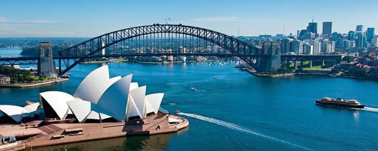 Opera Binası ve Köprü - Sydney