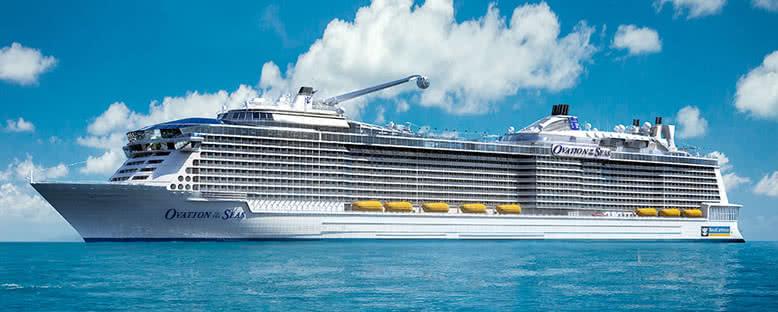 Ovation of the Seas ile Asya
