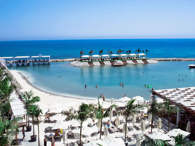 Özel Plaj - Cratos Premium Hotel