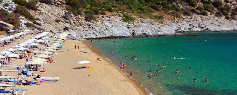 Paralia Plajı - Kavala