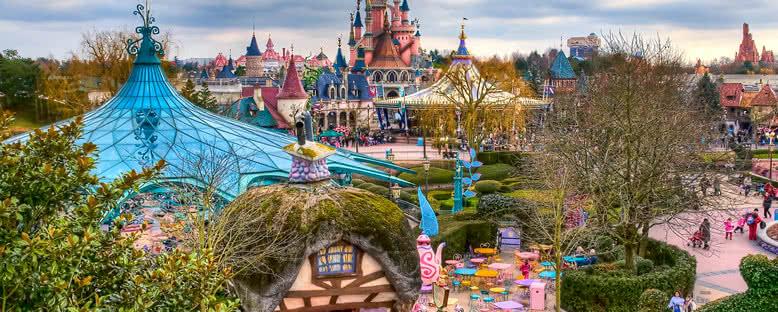 Park Manzarası - Disneyland