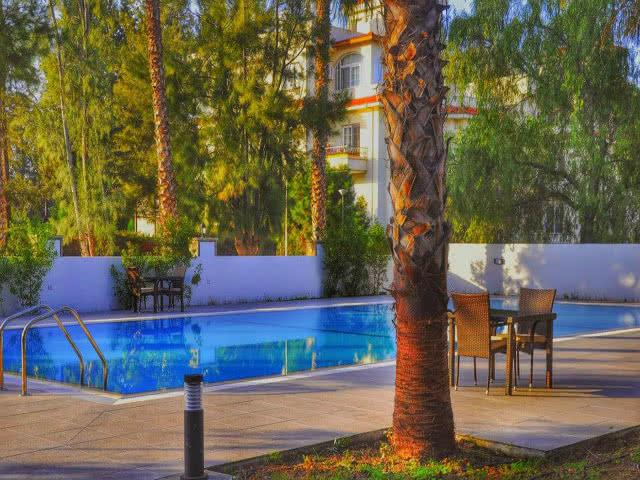 Park Palace Hotel - Bahçe