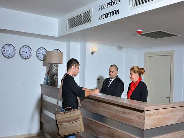 Park Palace Hotel - Reception