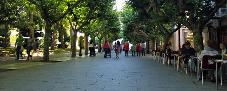 Paseo del Espolón Caddesi - Burgos