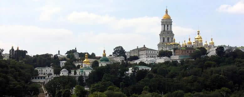 Pechersk Lavra Manastırı - Kiev