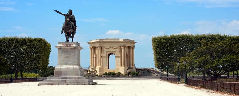 Peyrou Meydanı - Montpellier