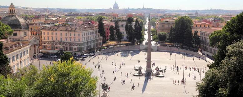 Piazza del Popolo Meydanı - Roma