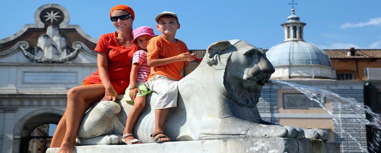Piazza del Popolo'da Turist Aile - Roma