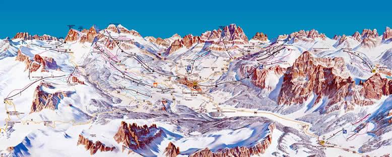 Pist Panoraması - Cortina d'Ampezzo