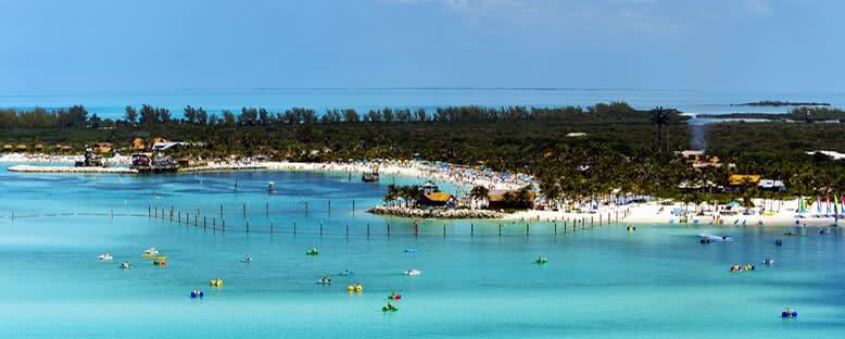 Plajlar ve Eğlence Parkları - Castaway Cay