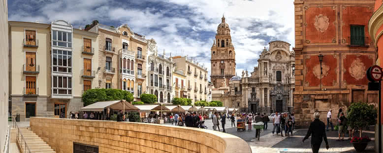 Plaza Cardenal Belluga - Murcia