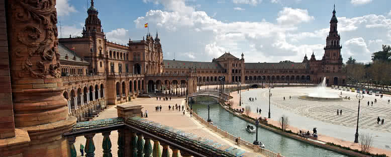 Plaza De Espana Alanı - Sevilla