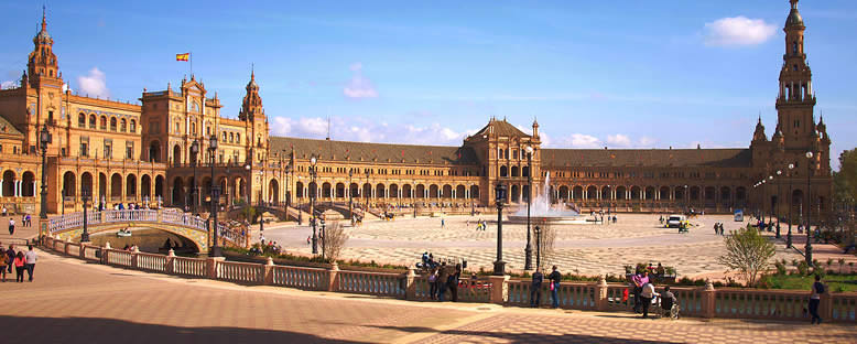 Plaza de Espana Meydanı - Sevilla