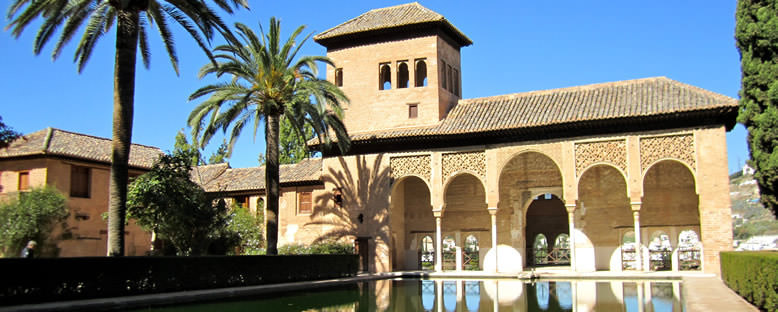 Elhamra Bahçeleri - Granada