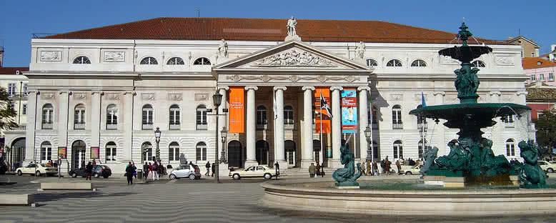 Praça de Rossio - Lizbon