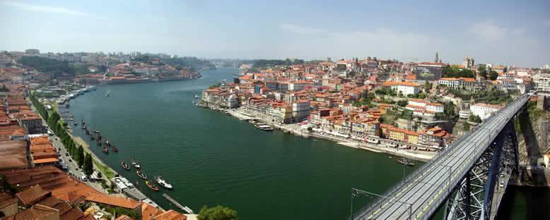 Douro Nehri ve Şehir - Porto