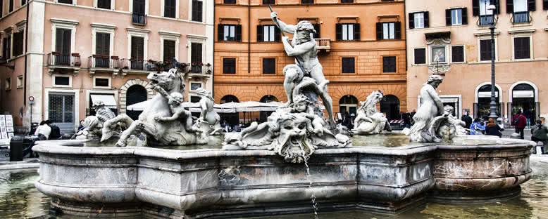 Poseidon Çeşmesi - Roma