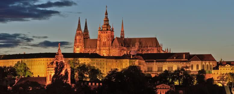 Prag Şatosu'nda Gece - Prag