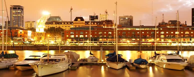 Puerto Madero'da Gece - Buenos Aires