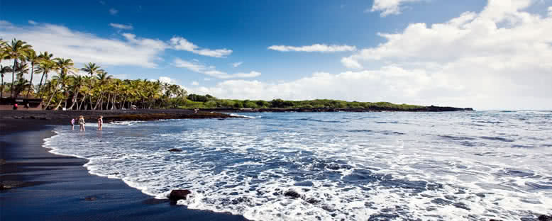 Punaluu Plajı - Hawaii
