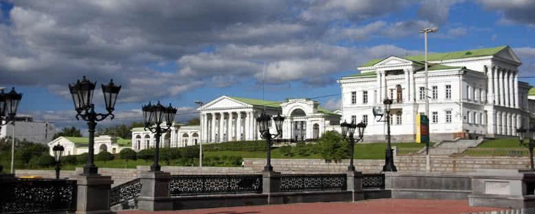 Rastorguev-Haritanov Sarayı - Ekaterinburg