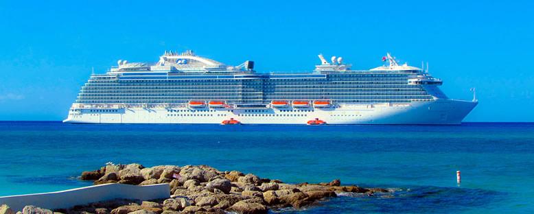 Regal Princess ile Doğu Karayipler Gemi Turu
