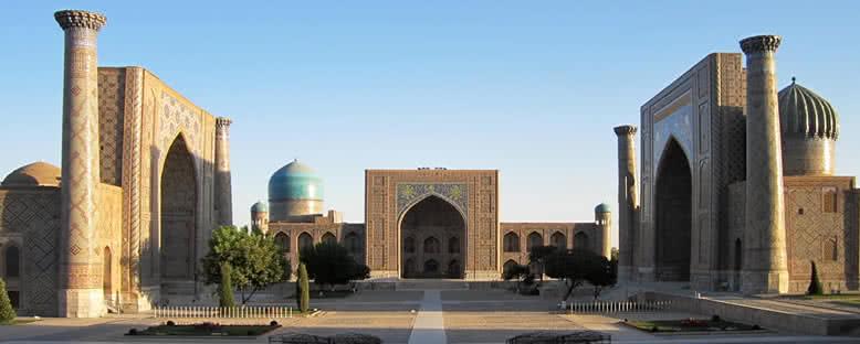 Registan Meydanı - Semerkant