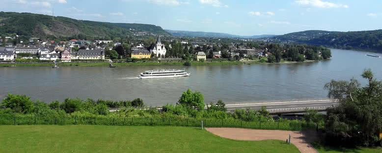 Ren Nehri Manzarası - Koblenz