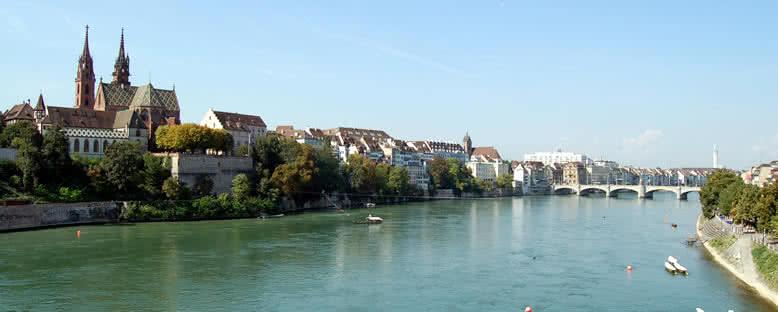 Ren Nehri Manzarası - Basel