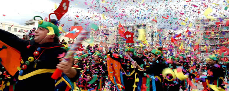 Renkli Geçitler - İskeçe Karnavalı