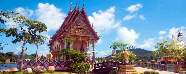 Renkli Tapınak - Koh Samui