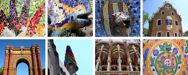 Renkli Yapılar - Barcelona