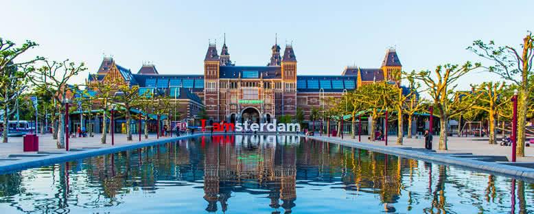 Rijksmuseum Manzarası - Amsterdam