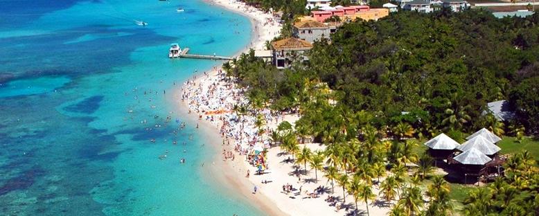 Roatan Kıyıları - Honduras