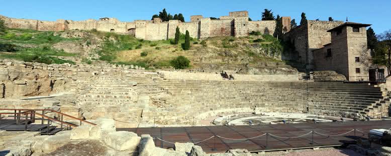 Roma Amfitiyatrosu Kalıntıları - Malaga