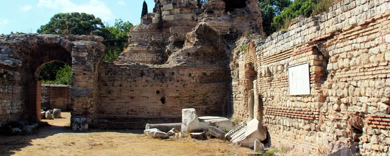 Roma Hamamı Kalıntıları - Varna