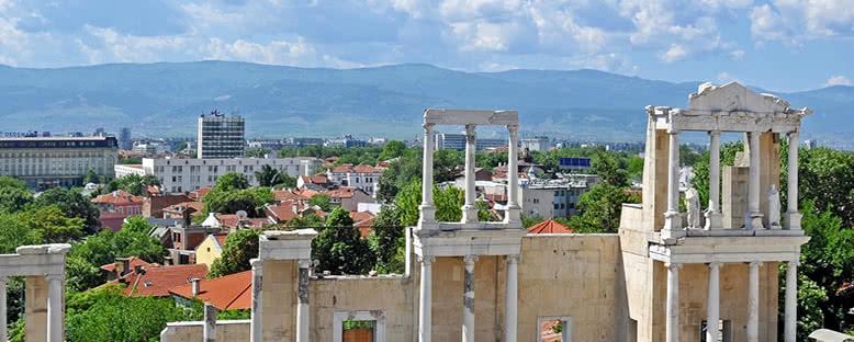 Roma Kalıntıları ve Şehir - Plovdiv