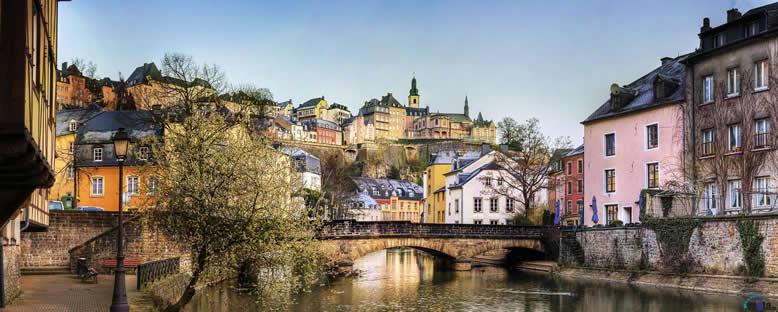 Kent Manzarası - Lüksemburg