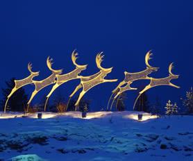 Rovaniemi heykel