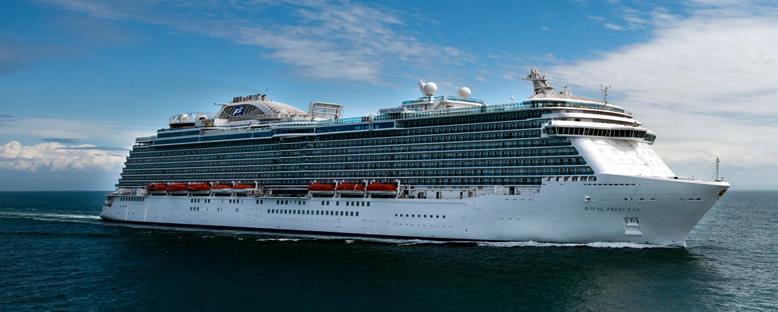 Royal Princess ile Karayipler Gemi Turu