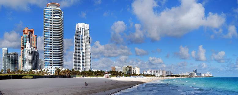 South Beach Panoraması - Miami