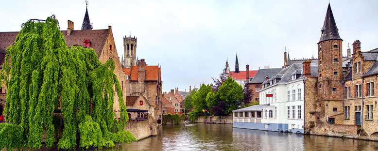 Rozenhoedkaai Kanalı - Brugge
