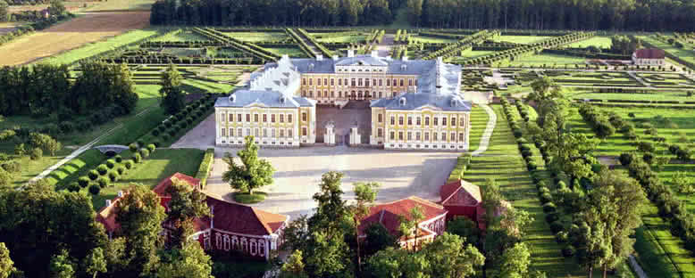 Rundale Sarayı - Letonya